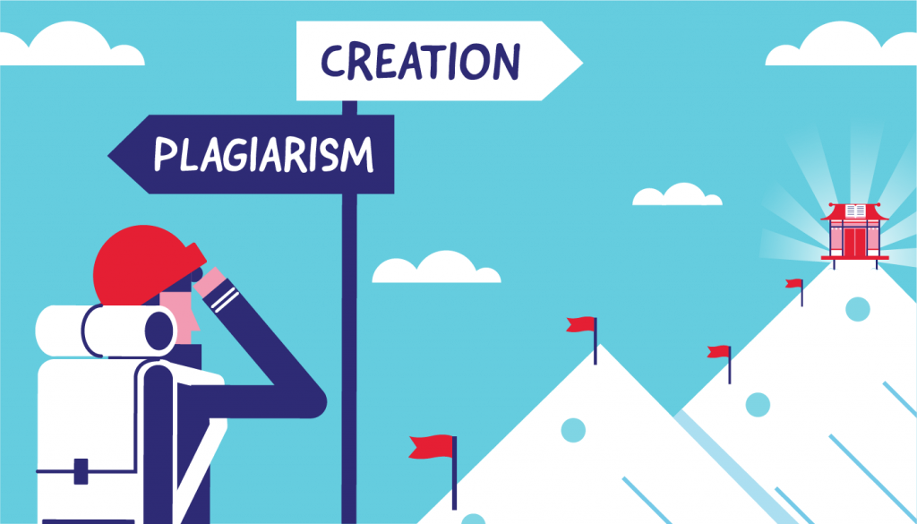 Learn from the Masters Plagiarism versus Research!