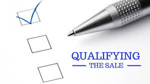 Sales Opportunities should be qualified